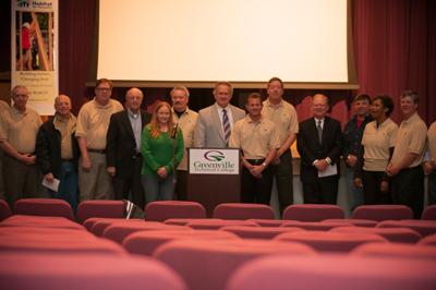 Greenville Habitat CEO build