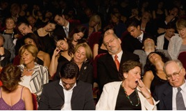 audience sleepy, sleeping audience