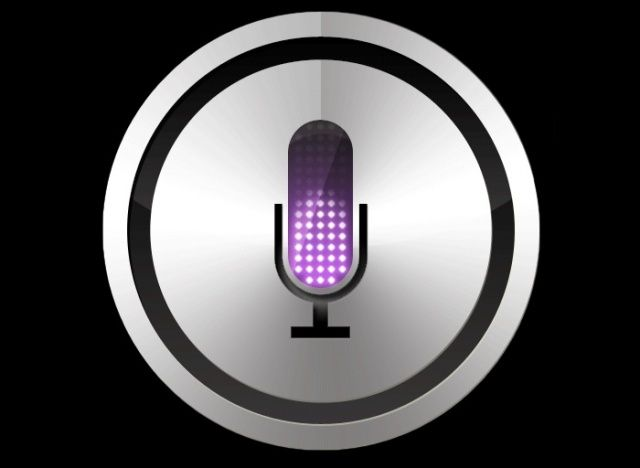 Siri button on the iPhone