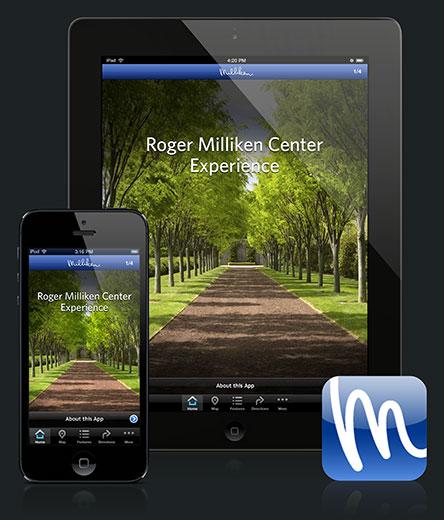 Milliken mobile app