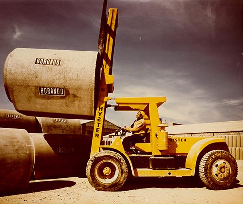 Hyster lift truck