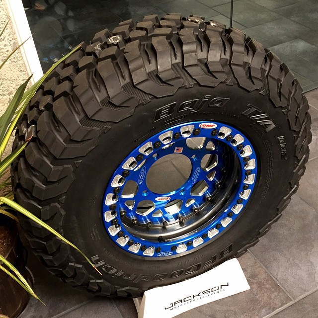 BFG Baja TA tire sold by Jackson Motorsports Group